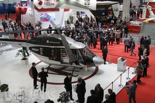 Thế giới trực thăng 'loáng mắt' trong triển lãm ở Moskva ảnh 6