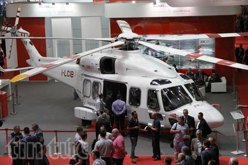 Thế giới trực thăng 'loáng mắt' trong triển lãm ở Moskva ảnh 7
