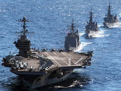 Ba hướng triển khai hải quân của Mỹ đối phó Trung Quốc ở Biển Đông ảnh 1