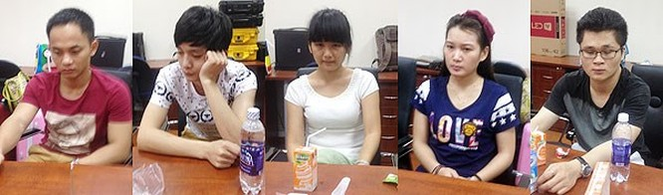 Bắt quả tang 19 đối tượng Trung Quốc dùng điện thoại VOIP để lừa đảo ảnh 1