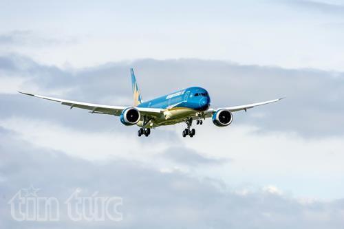Boeing 787-9 Dreamliner của Vietnam Airlines bay thử lần đầu tiên ảnh 2