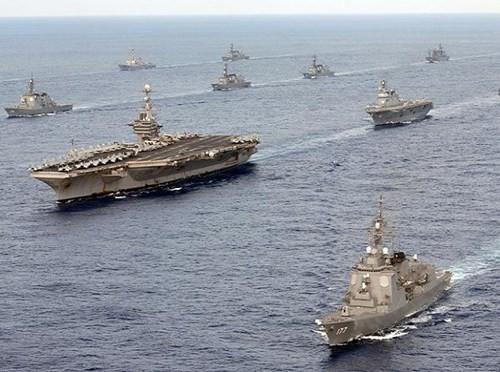 """Mỹ """"bày trận' quyết đấu Trung Quốc trên biển Đông ảnh 2"""