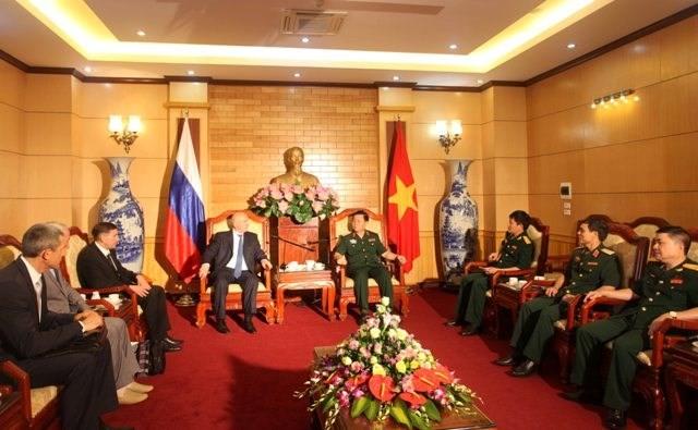 Tướng phản gián quân sự - cơ quan An ninh Liên bang Nga thăm Việt Nam ảnh 1