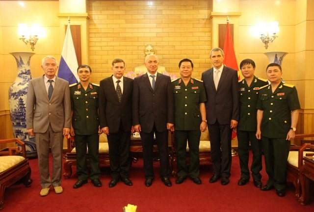 Tướng phản gián quân sự - cơ quan An ninh Liên bang Nga thăm Việt Nam ảnh 2