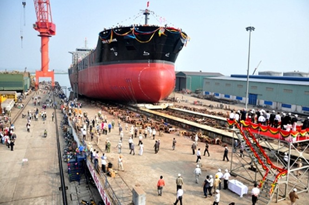 Nhà đầu tư ngoại mua 49% cổ phần Công ty Đóng tàu Hạ Long? ảnh 1