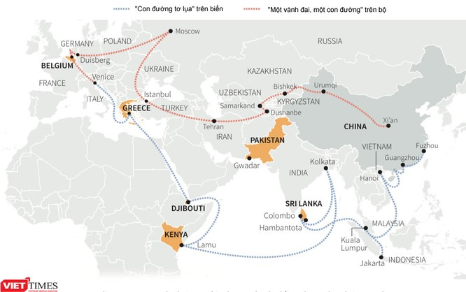 Trung Quốc mưu đồ xây dựng đế chế thương mại - quân sự thống trị toàn cầu ảnh 1