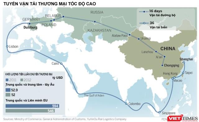 Trung Quốc mưu đồ xây dựng đế chế thương mại - quân sự thống trị toàn cầu ảnh 8