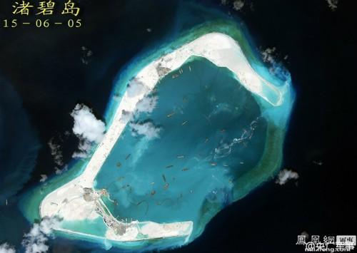 Philippines tố Trung Quốc vẫn dồn dập xây dựng ở Biển Đông ảnh 1