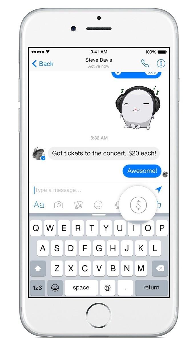 Facebook Messenger bắt đầu cho phép người dùng chuyển tiền cho bạn bè ảnh 2