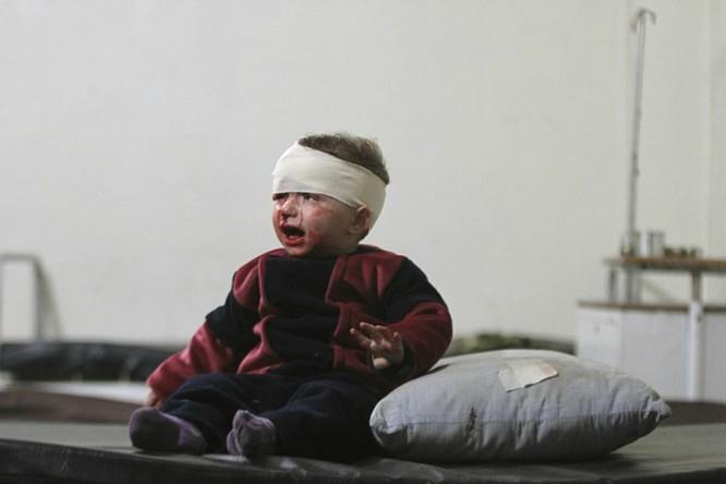 Chùm ảnh trẻ em Trung Đông trong chiến tranh ảnh 1