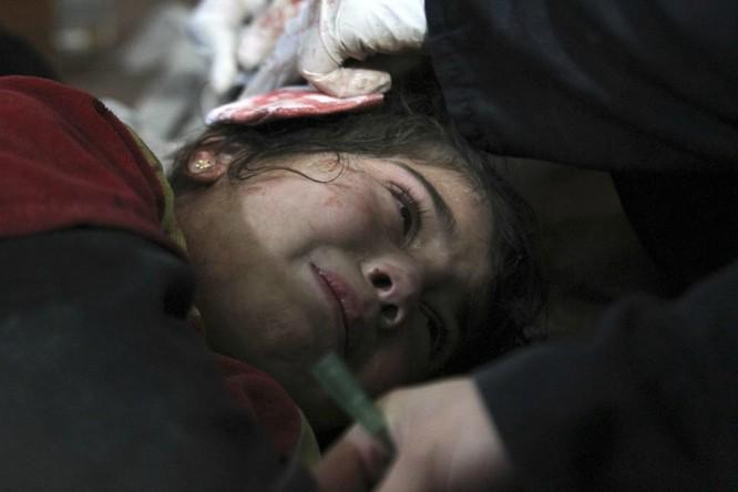 Chùm ảnh trẻ em Trung Đông trong chiến tranh ảnh 2