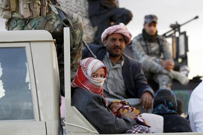 Chùm ảnh trẻ em Trung Đông trong chiến tranh ảnh 7
