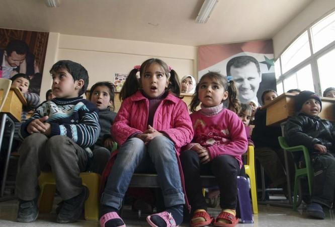 Chùm ảnh trẻ em Trung Đông trong chiến tranh ảnh 11