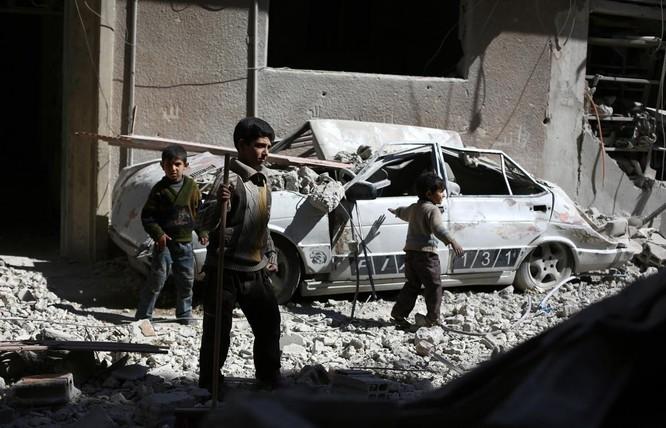 Chùm ảnh trẻ em Trung Đông trong chiến tranh ảnh 18