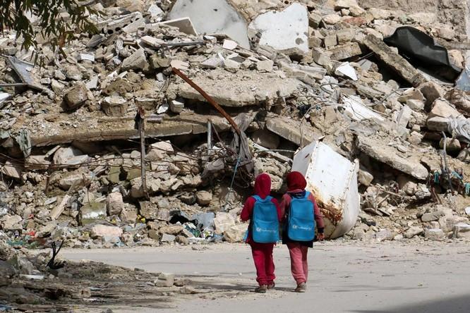 Chùm ảnh trẻ em Trung Đông trong chiến tranh ảnh 24