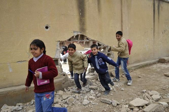 Chùm ảnh trẻ em Trung Đông trong chiến tranh ảnh 25
