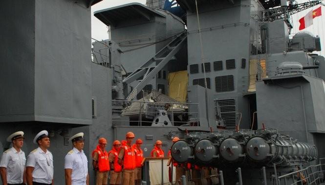 Tàu chống ngầm của Nga đến Đà Nẵng ảnh 7