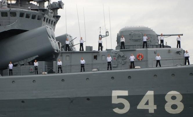 Tàu chống ngầm của Nga đến Đà Nẵng ảnh 4