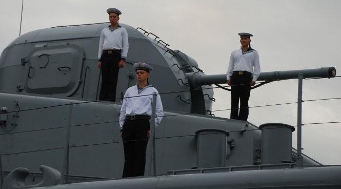 Tàu chống ngầm của Nga đến Đà Nẵng ảnh 6