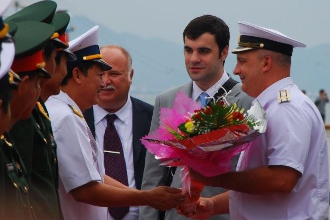 Tàu chống ngầm của Nga đến Đà Nẵng ảnh 1
