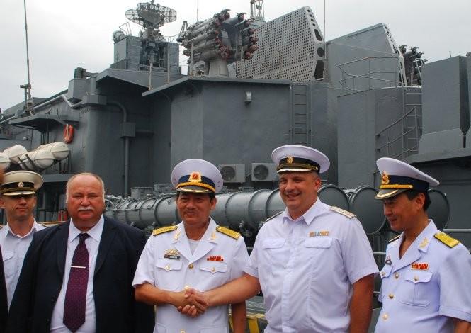 Tàu chống ngầm của Nga đến Đà Nẵng ảnh 2