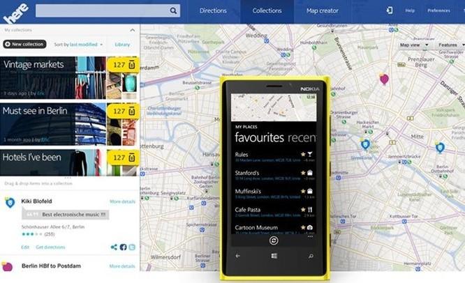 Nokia bán bản đồ của mình cho BMW, Audi và Daimler ảnh 1