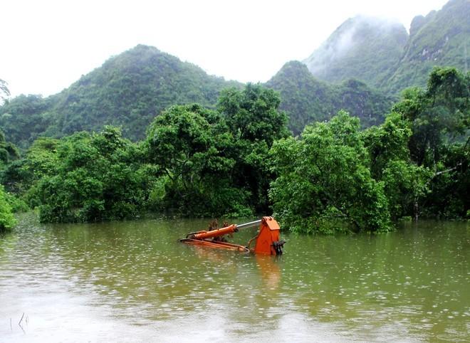 Nước dâng cao, xã đảo ở Hải Phòng biến thành biển hồ ảnh 4