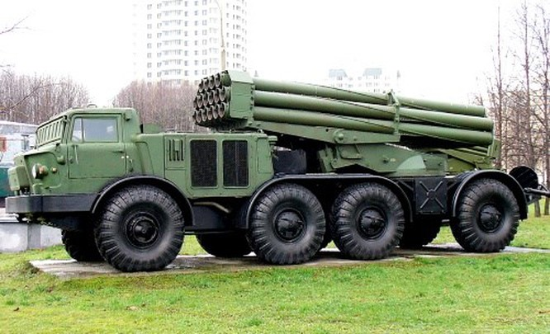 """Uy lực khủng khiếp của pháo phản lực bắn loạt """"Tornado - G"""" ảnh 5"""