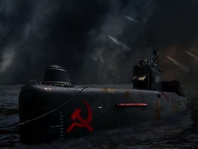 Tàu ngầm dưới con mắt họa sĩ ảnh 2