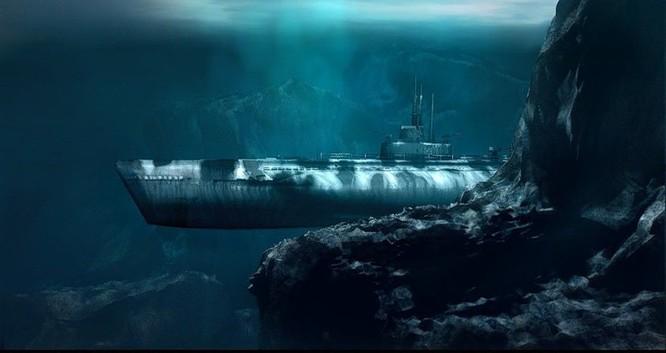 Tàu ngầm dưới con mắt họa sĩ ảnh 4