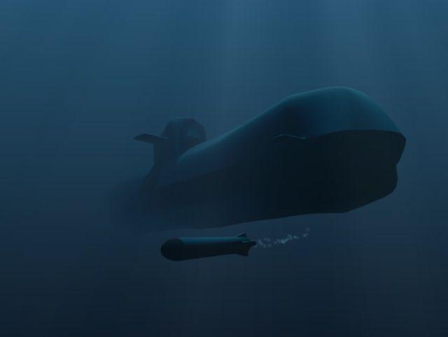 Tàu ngầm dưới con mắt họa sĩ ảnh 6
