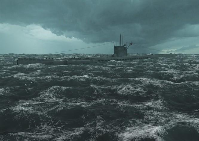 Tàu ngầm dưới con mắt họa sĩ ảnh 7
