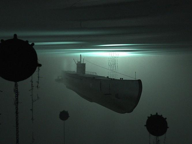 Tàu ngầm dưới con mắt họa sĩ ảnh 10