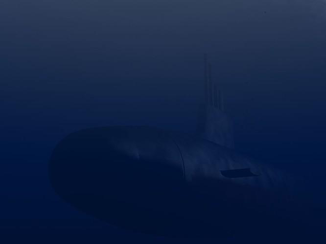 Tàu ngầm dưới con mắt họa sĩ ảnh 12