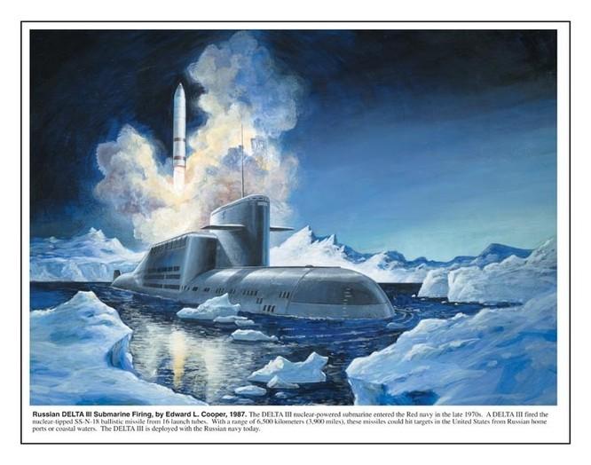 Tàu ngầm dưới con mắt họa sĩ ảnh 15