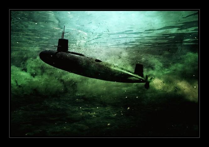 Tàu ngầm dưới con mắt họa sĩ ảnh 16