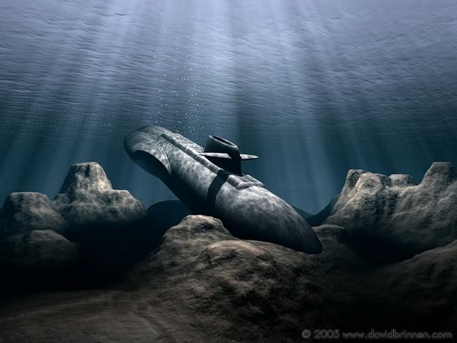 Tàu ngầm dưới con mắt họa sĩ ảnh 17