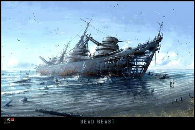 Tàu ngầm dưới con mắt họa sĩ ảnh 18