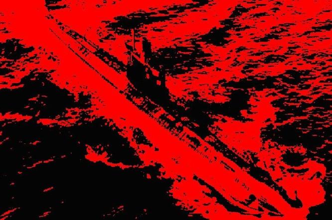 Tàu ngầm dưới con mắt họa sĩ ảnh 21