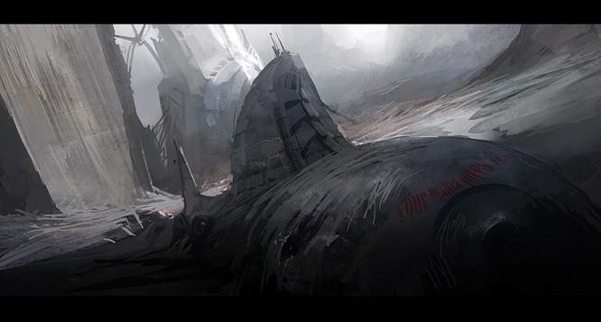 Tàu ngầm dưới con mắt họa sĩ ảnh 23