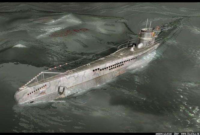 Tàu ngầm dưới con mắt họa sĩ ảnh 26