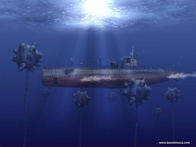 Tàu ngầm dưới con mắt họa sĩ ảnh 28