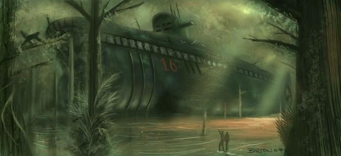 Tàu ngầm dưới con mắt họa sĩ ảnh 32