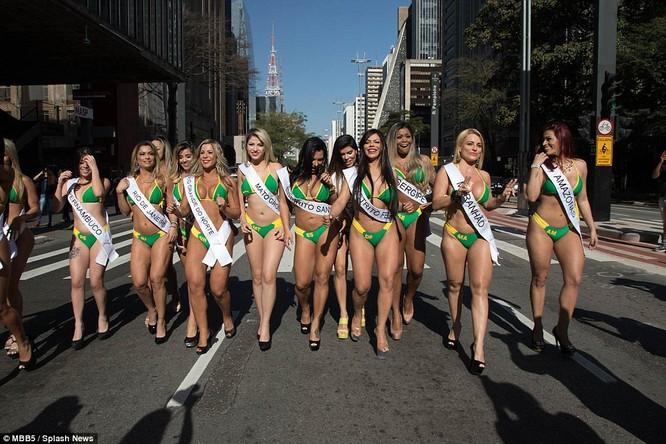 Bỏng mắt với dàn Hoa hậu Miss Bum Bum Brazil ảnh 1