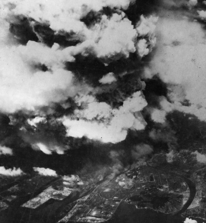 Chùm ảnh độc thảm họa hạt nhân Hirosima 70 năm trước ảnh 6