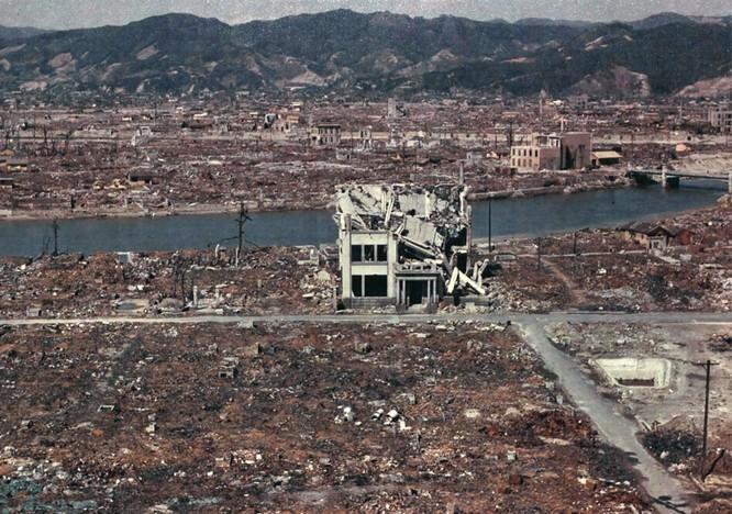 Chùm ảnh độc thảm họa hạt nhân Hirosima 70 năm trước ảnh 17
