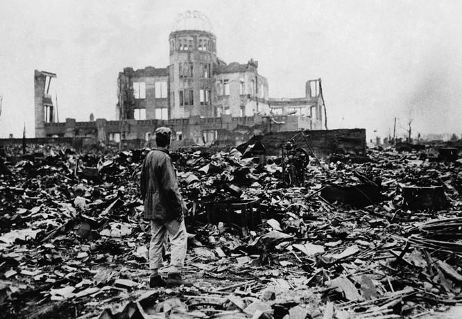 Chùm ảnh độc thảm họa hạt nhân Hirosima 70 năm trước ảnh 32