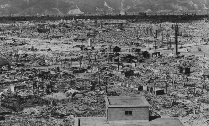 Chùm ảnh độc thảm họa hạt nhân Hirosima 70 năm trước ảnh 34