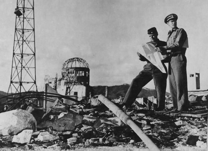 Chùm ảnh độc thảm họa hạt nhân Hirosima 70 năm trước ảnh 35