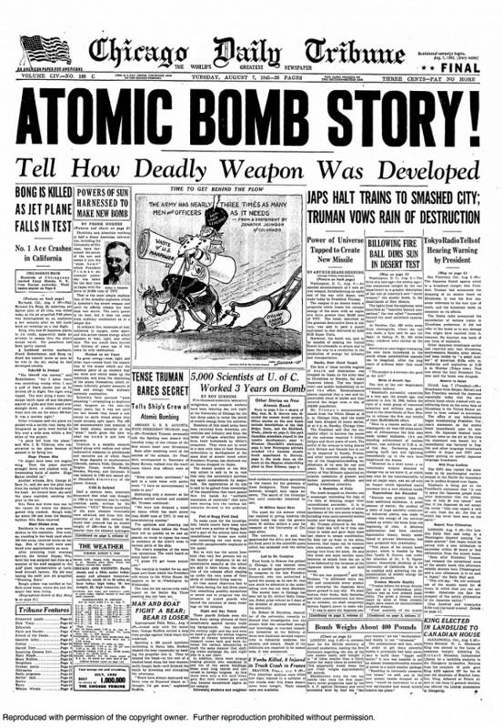 Chùm ảnh độc thảm họa hạt nhân Hirosima 70 năm trước ảnh 56